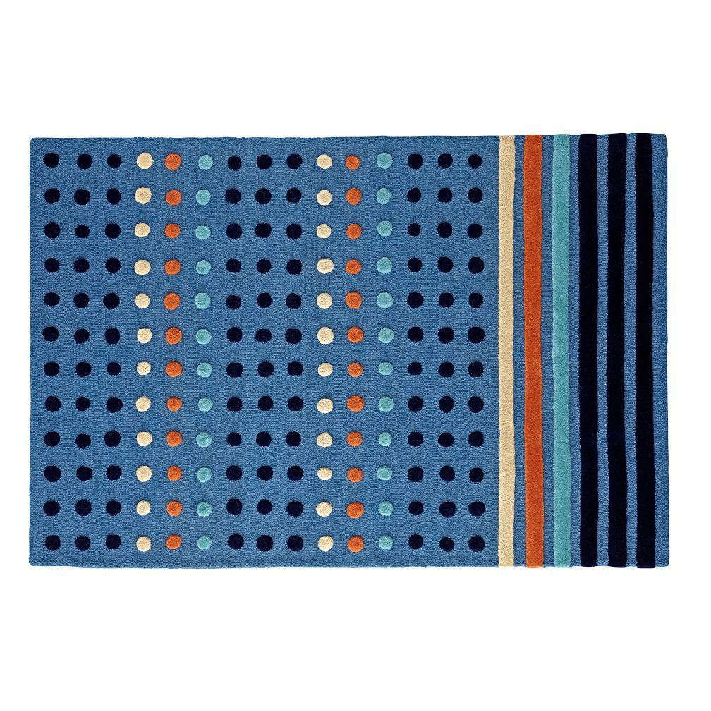 Dots and Stripes Rug