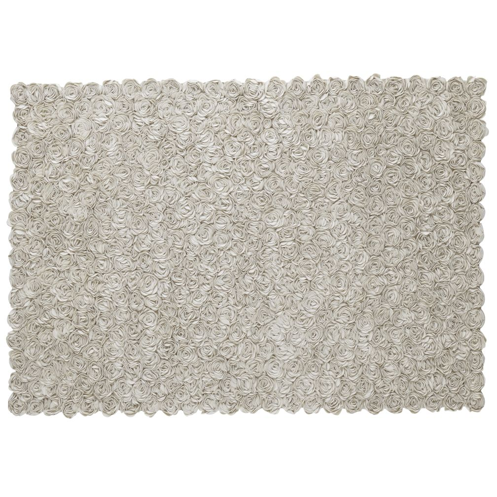 4 x 6' Rosy Chic Rug (Cream)