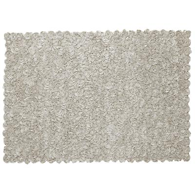 5 x 8' Rosy Chic Rug (Cream)