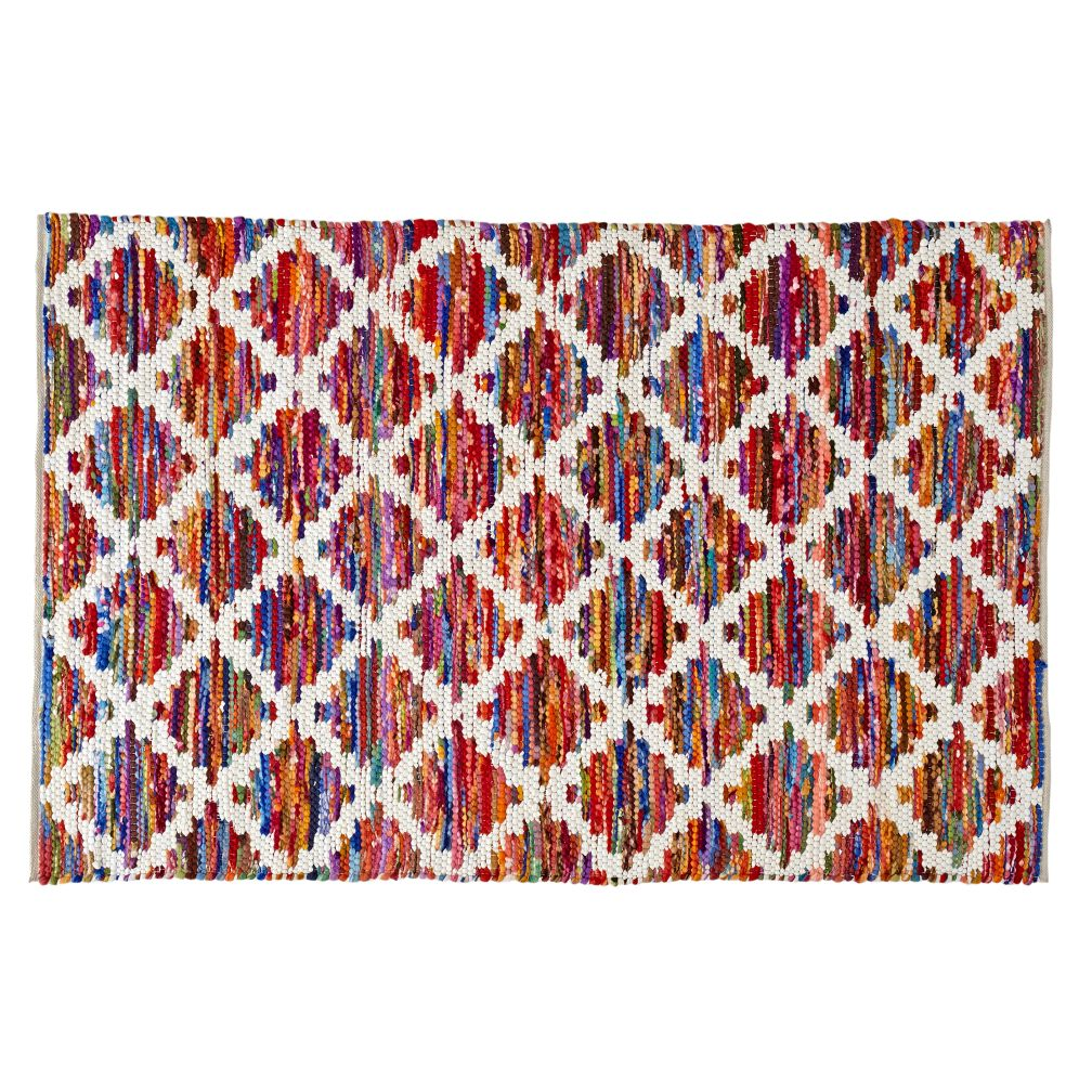 Color Grid Rug