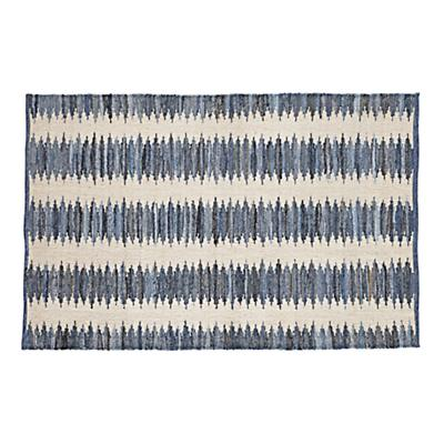 8 x 10' Folk Denim Rug