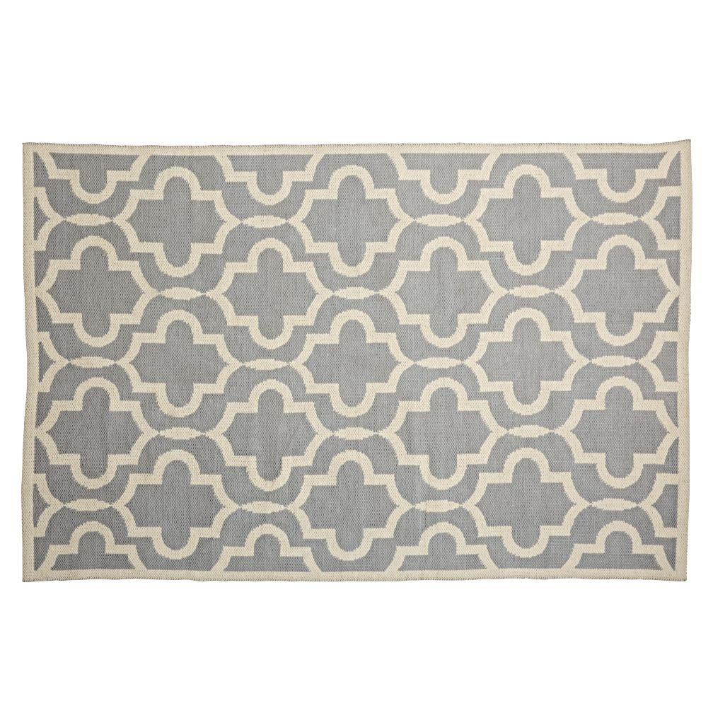 Fretwork Grey Rug