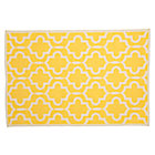 5 x 8' YFretwork Yellow Rug