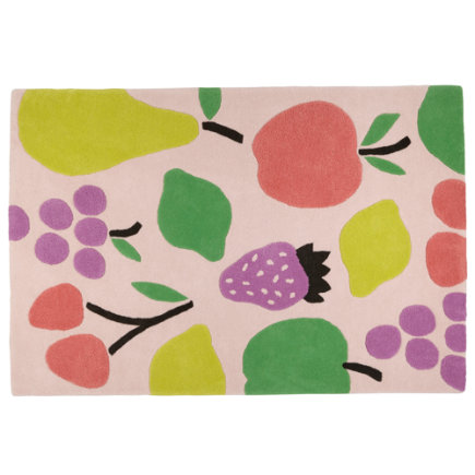 Fruit Salad Kids Area Rug - 4 x 6 Fruit Salad Rug