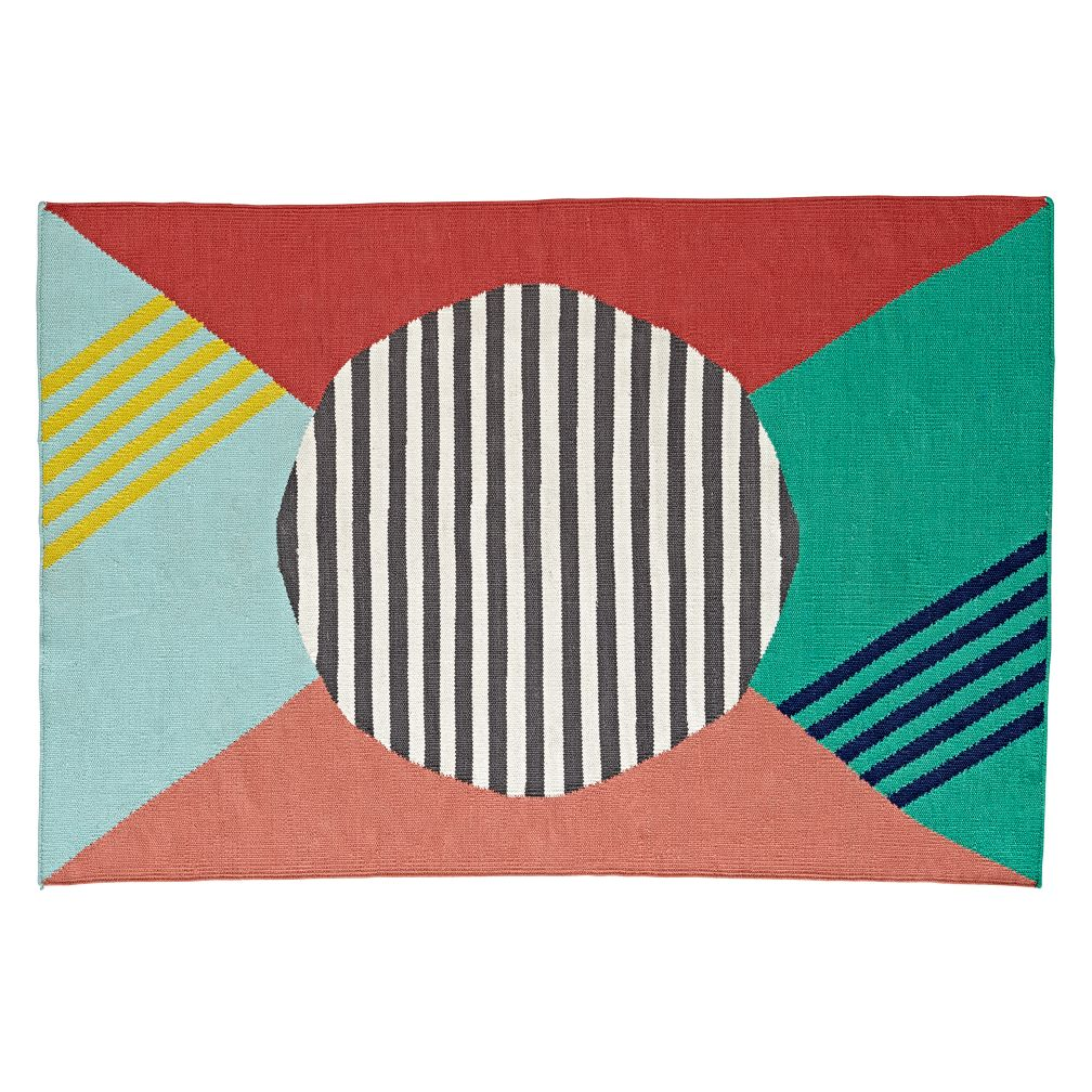 Geometric Bands Rug