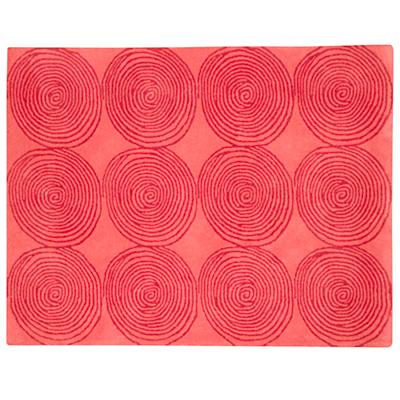 5 x 7' Honey Bun Rug (Pink)