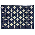 4 x 6'  Blue Indoor Outdoor Rug