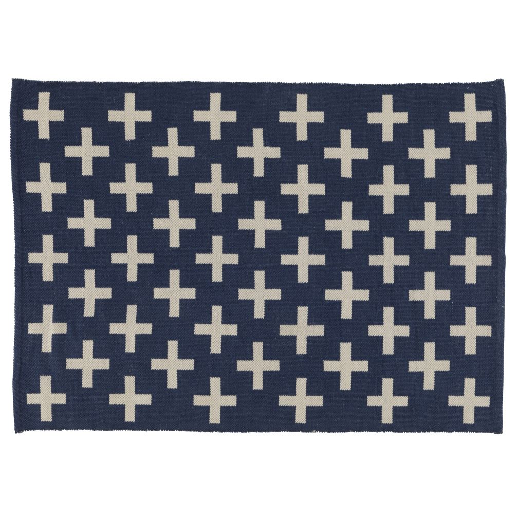 8 x 10' Indoor + Outdoor Rug (Blue)