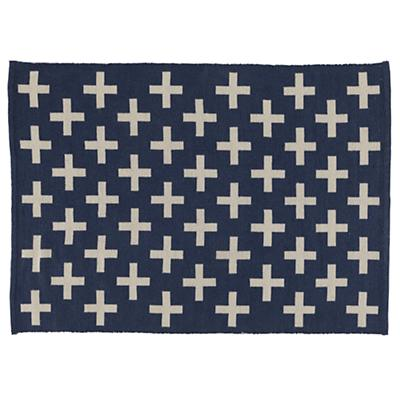 4 x 6' Indoor + Outdoor Rug (Blue)
