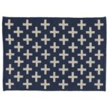 5 x 8' Indoor + Outdoor Rug (Blue)