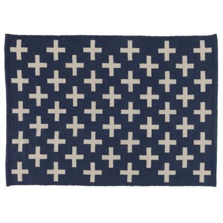 4 x 6  Blue Indoor Outdoor Rug