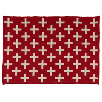 Indoor + Outdoor Rug (Red)