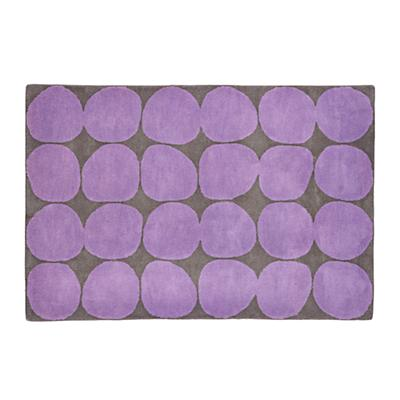 8 x 10' Ink Spot Rug (Purple)