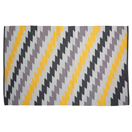 Live Wire Kids Rug - 4 x 6 Live Wire Reversible Rug