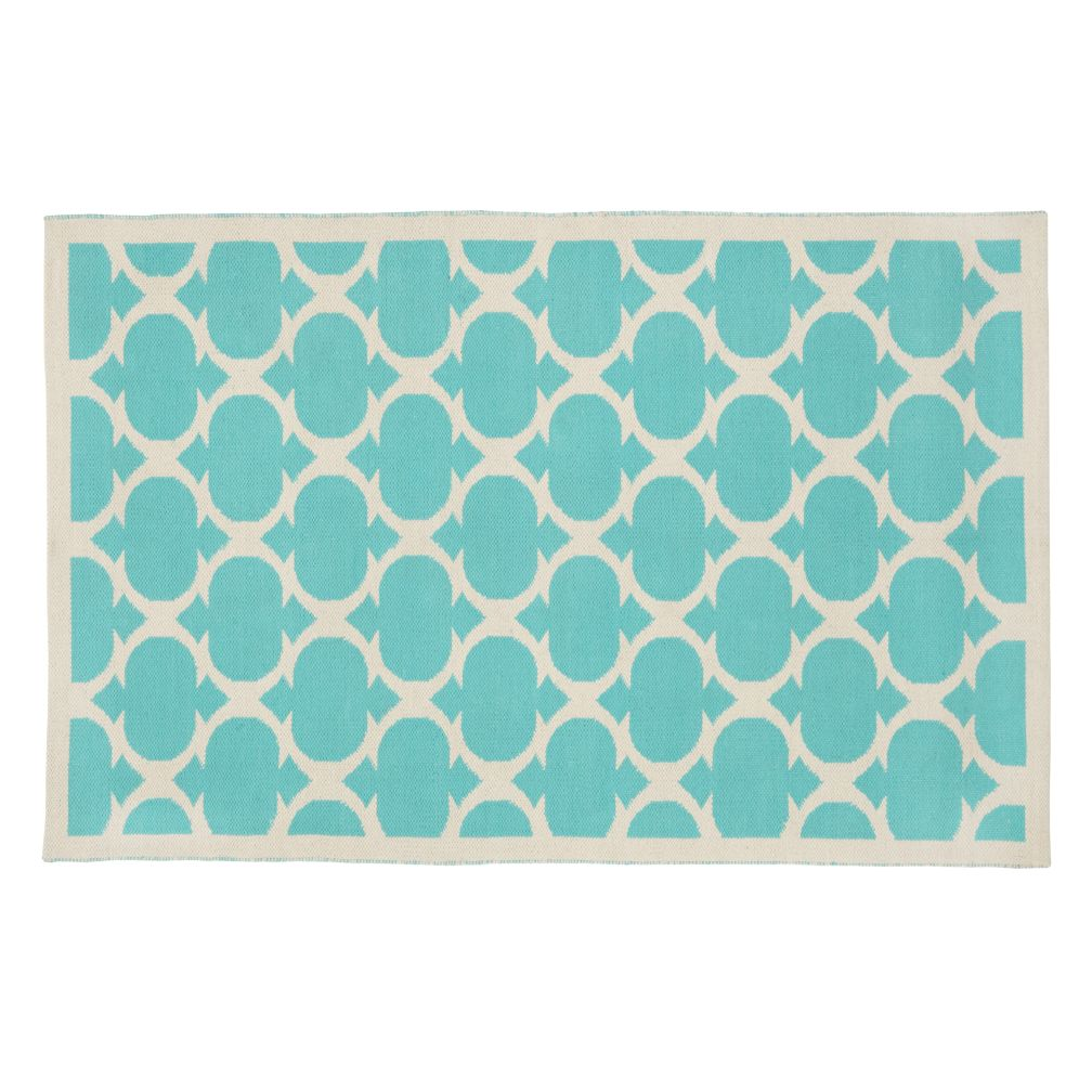 4 x 6' Magic Carpet Rug (Aqua)