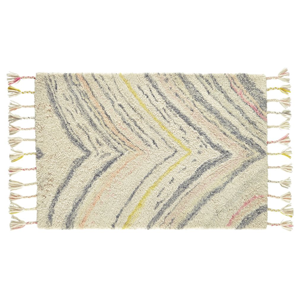 8 x 10' Marbled Layers Rug