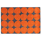 Swatch Orange Ink Spot Rug
