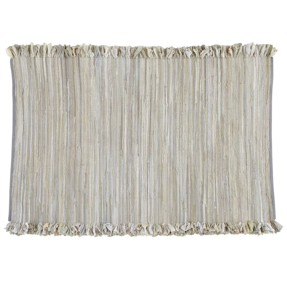 8 x 10' Ribbon Cutting Rug (Grey)