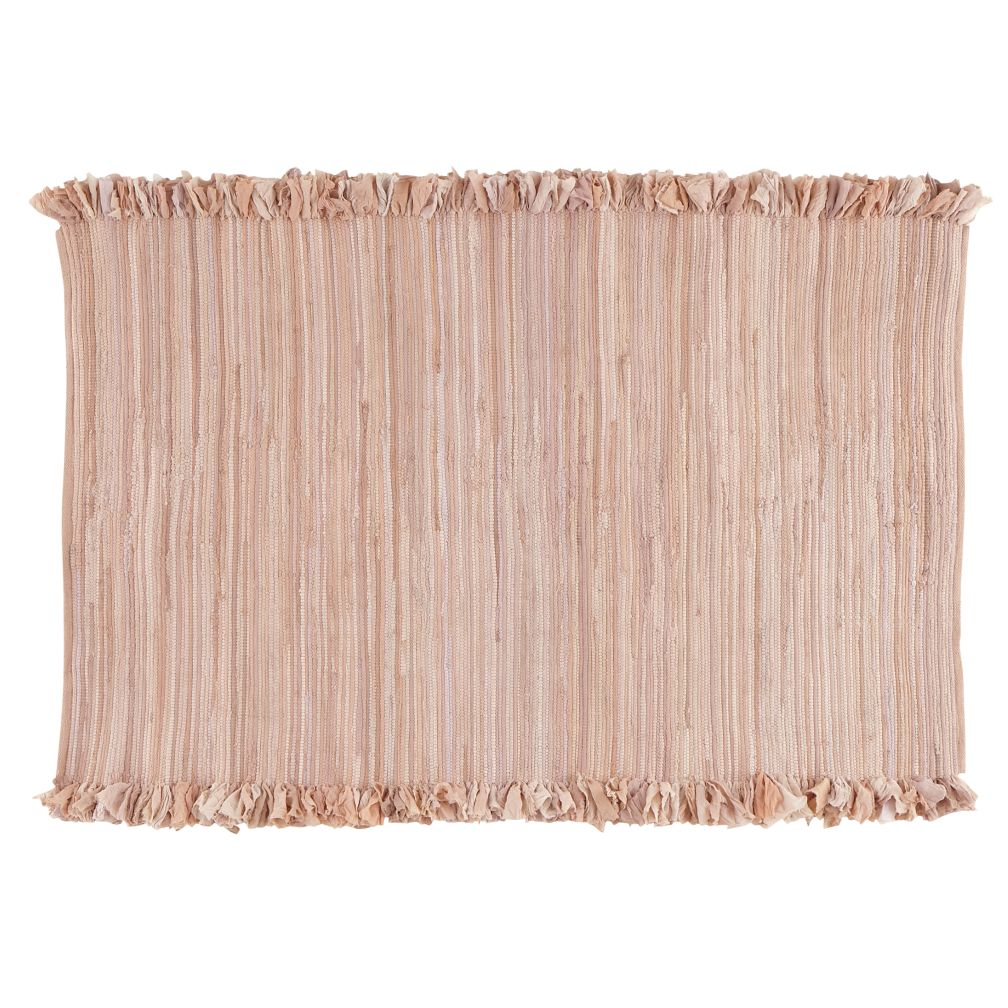 Ribbon Cutting Rug (Pink)