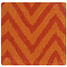 Swatch Orange Zig Zag Rug