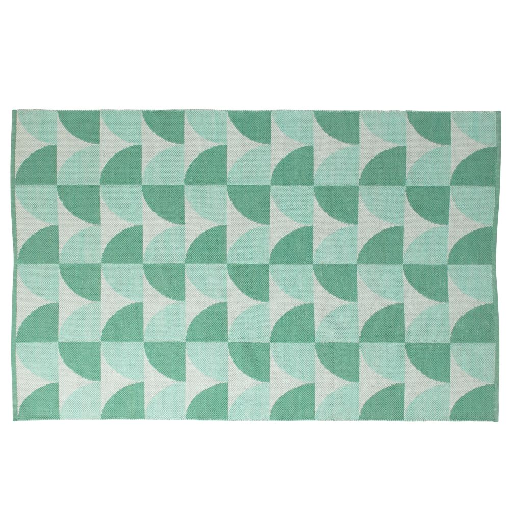 Semi Scallop Rug (Mint)