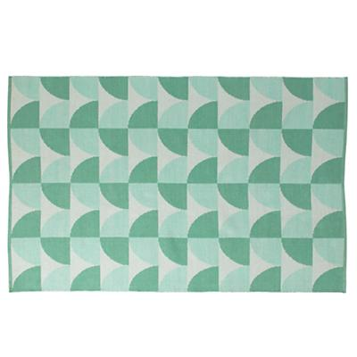4 x 6' Semi Scallop Rug (Mint)