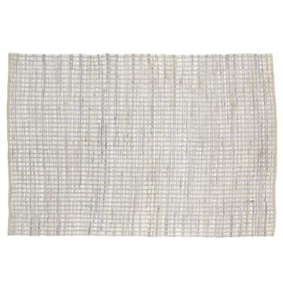 5 x 8'  Rags to Riches Rug (White)