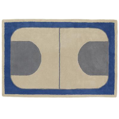5 x 8' Game On Rug (Blue)