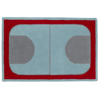 8 x 10' Game On Rug (Red)