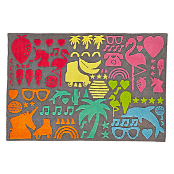 5 x 8' Sticker Book Rug