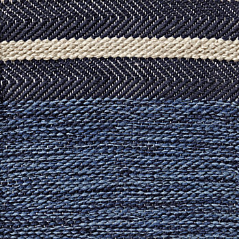 Blue Defined Lines Rug Swatch