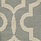Fretwork Grey RugSwatch