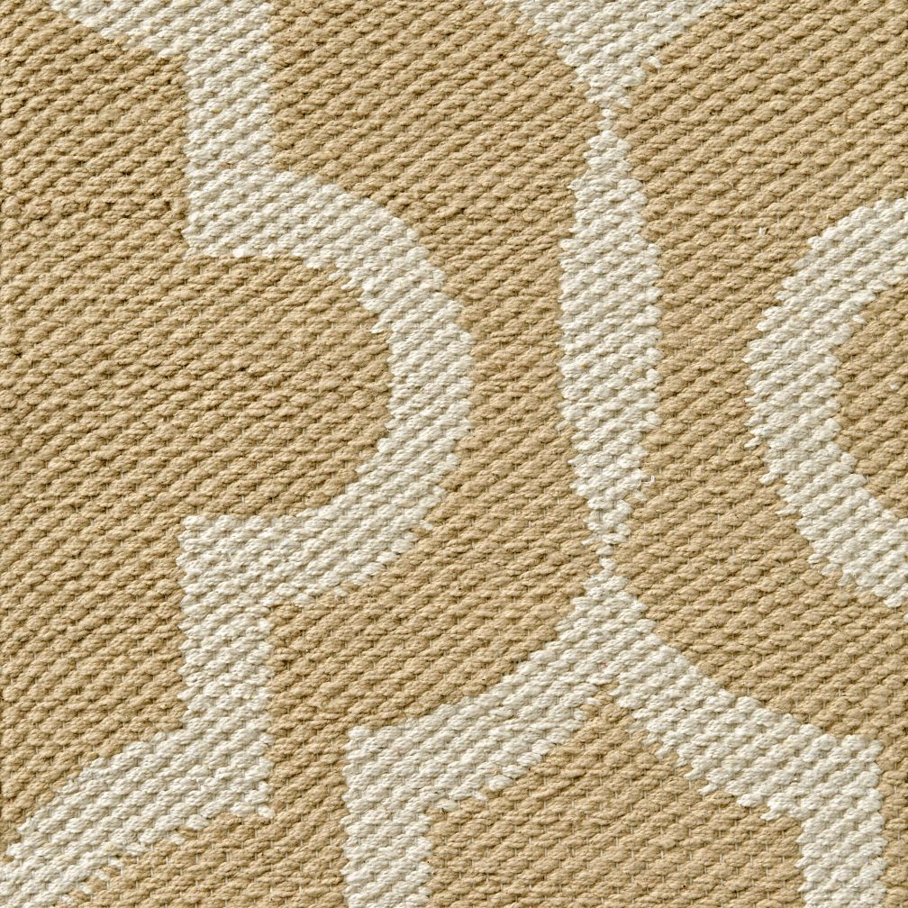 Fretwork Khaki Rug Swatch
