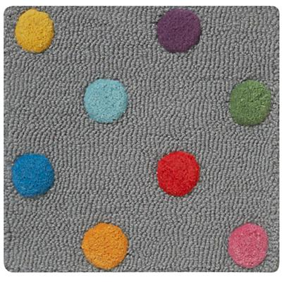 Candy Dot Rug Swatch