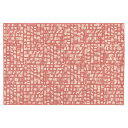 Tally Kids Area Rug (Pink) - 4 x 6 Pink Tally Rug