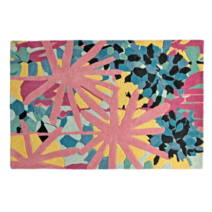 Water Lily Kids Rug - 4 x 6 Water Lily Rug