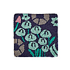 Blue Local Flora Rug Swatch