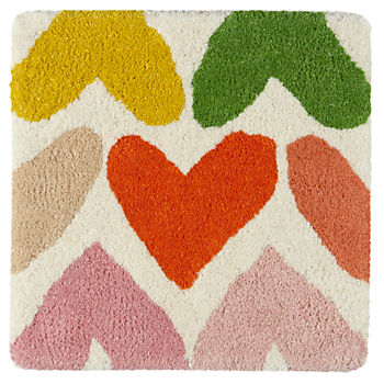 Heart to Heart Rug Swatch