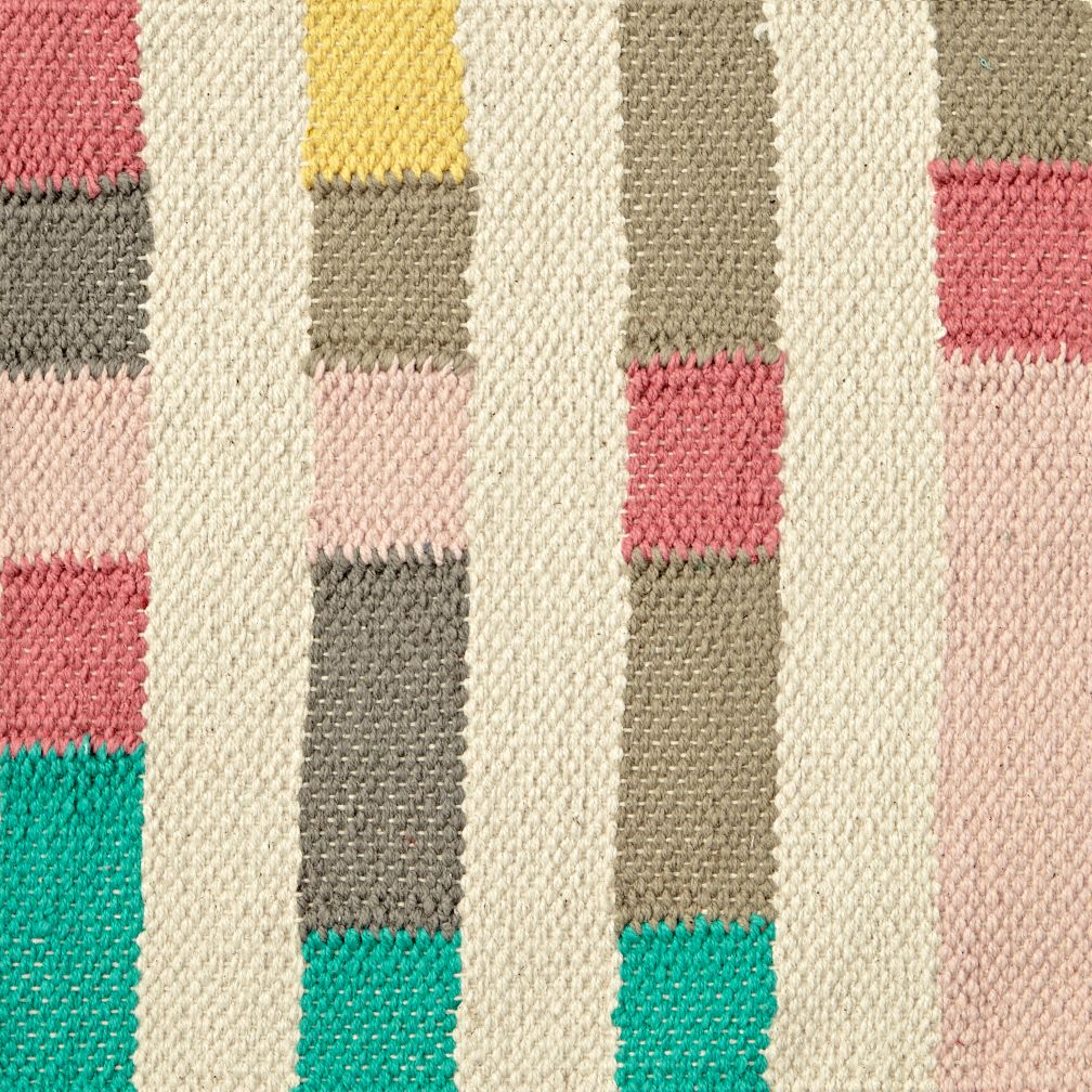 Multi Block Rug Swatch