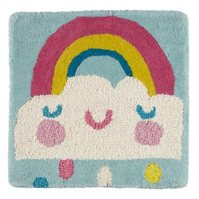 Rain and Shine Rug Swatch