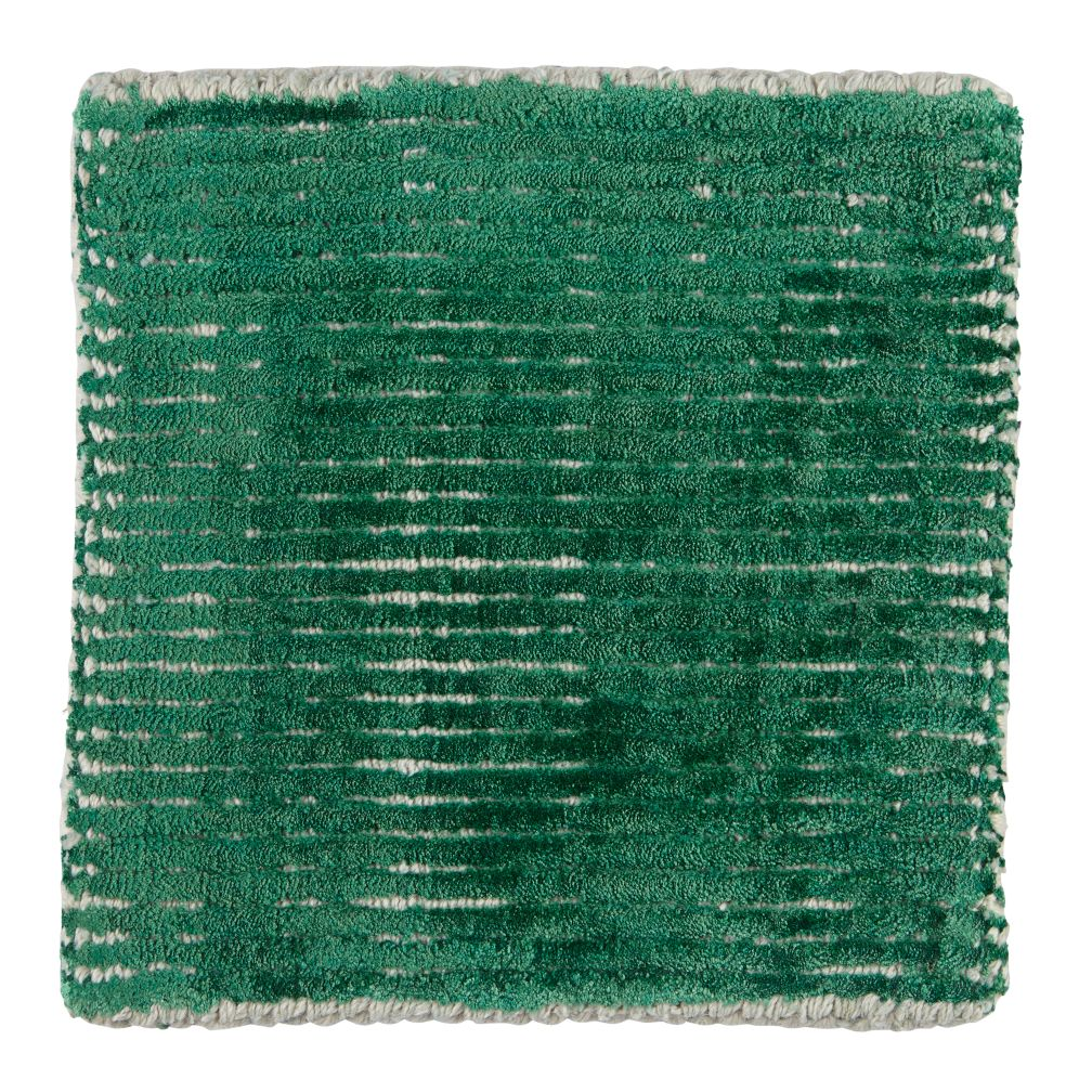 Patina Rug Swatch (Green)
