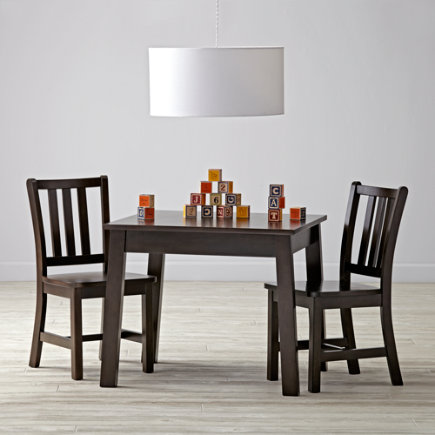 Java Table & Chair Set - Anywhere Square Java Play Table & Chairs Set