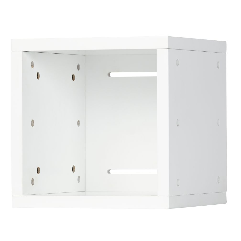 Shelving System White Storage For Kids Playrooms Wire Storage Cubes