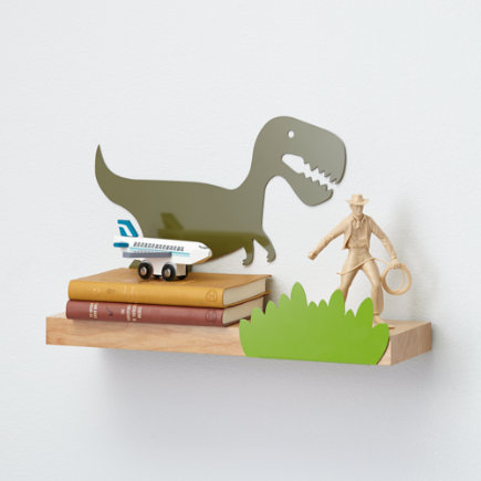 Kids Dinosaur Wall Shelf - Dino Might Wall Shelf