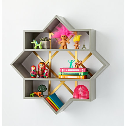 - Genevieve Gorder Star Wall Shelf