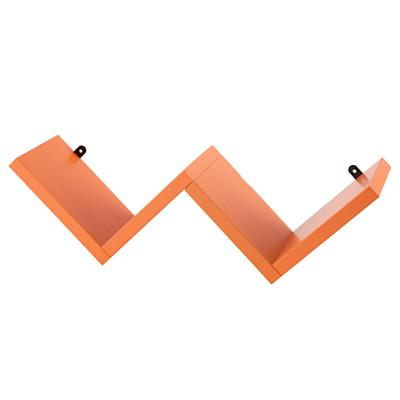 Origami Wall Shelf (Orange)