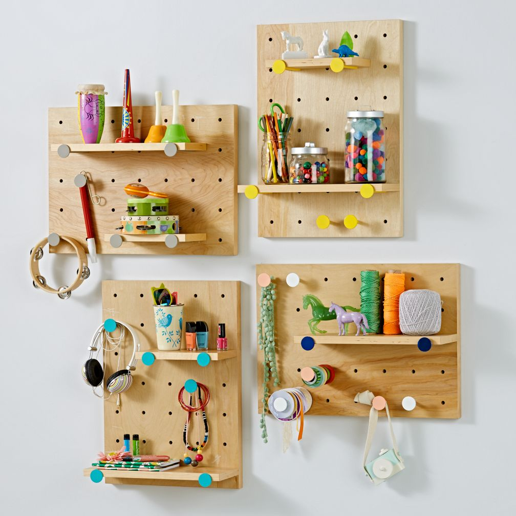 Modern Homes Peg: Kids Shelves & Wall Shelves