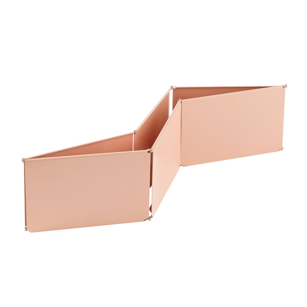Shape Shifter Wall Shelf (Peach)