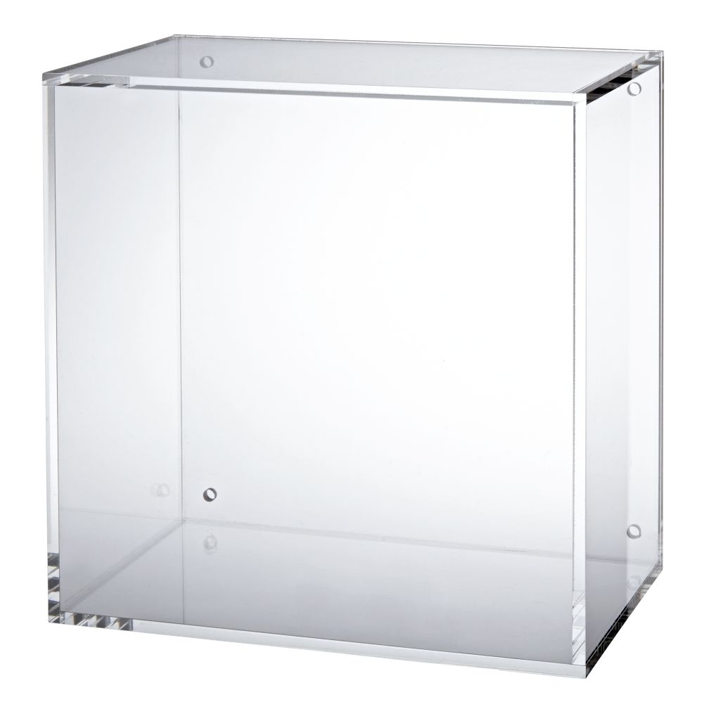 Square Away Acrylic Cube (Clear)