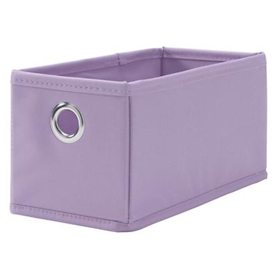 I Think I Canvas Narrow Drawer (Lavender)
